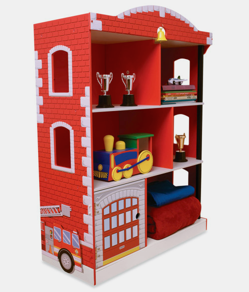FeuerwehrRegal Kinderbücherregal, Kinder zimmer
