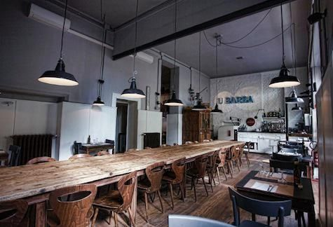 restaurant visit: u barba osteria in milan, italy   restaurants