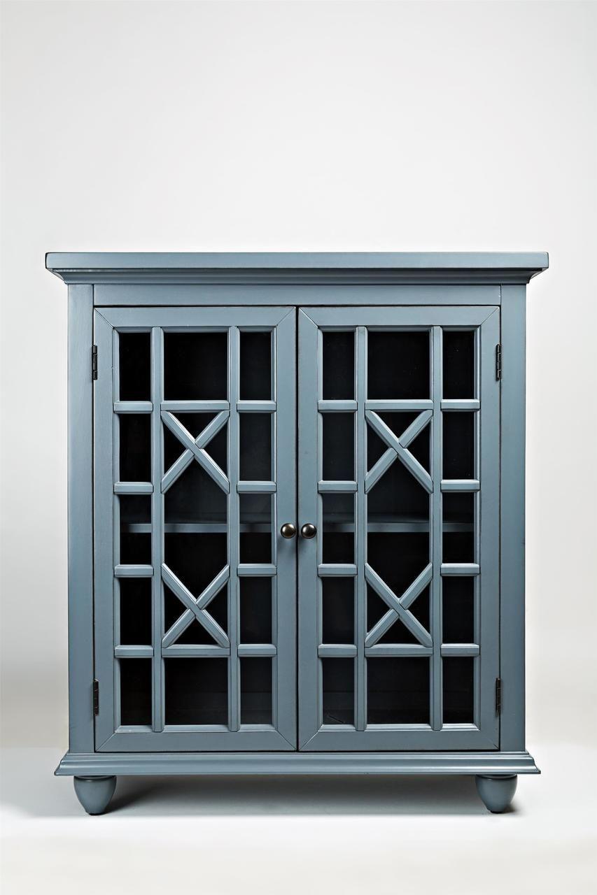 Best Vintage Blue Accent Chest Accent Doors Blue Cabinets 400 x 300