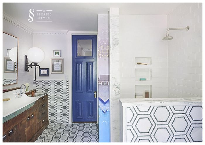 Before & After: Kids Bathroom Makeover | A Storied Style | A design blog dedicated to sharing the stories behind the styles we create.