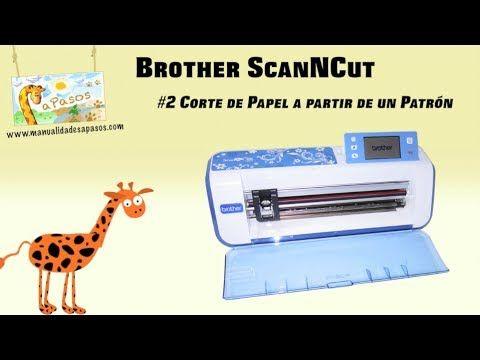 Brother ScanNCut - Corte de Papel o Cartulina