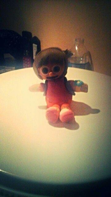 My firstfondan figure Dora the Explorer