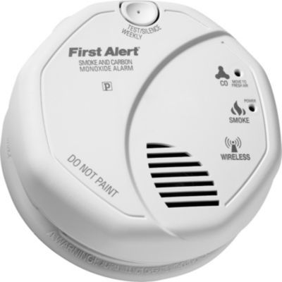 First Alert Combination Photoelectric Smoke Carbon Monoxide