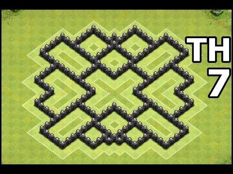 Base Th 7 Coc Best Defense 2