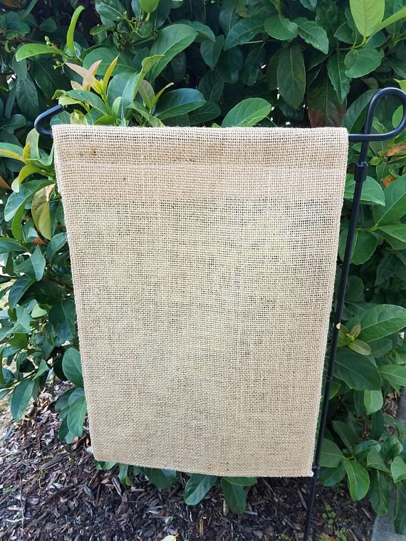 25 Garden Flags Burlap Plain Wholesale Blanks Pack Of 10 Burlap Garden Flags Burlap Garden Flags