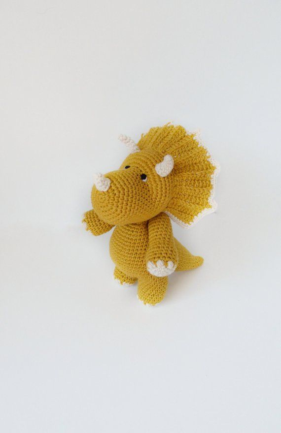 18 Crochet Dinosaur Patterns - Crochet News | 880x570