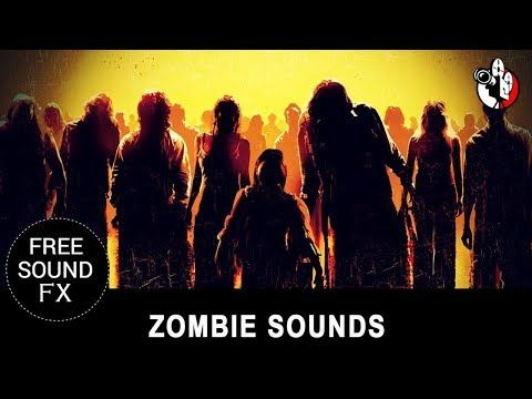 Scary Zombie sound effects 100% Designer Sound Effects Game sounds