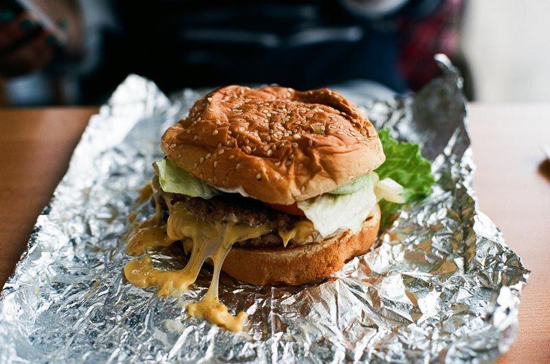 Las hamburguesas de five guys en nueva york eating