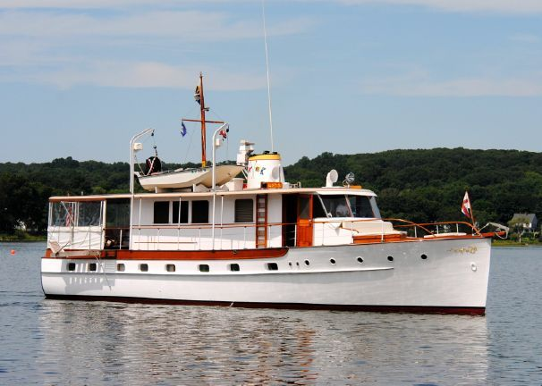1947 Trumpy Mathis Trumpy Houseboat Power Boat For Sale