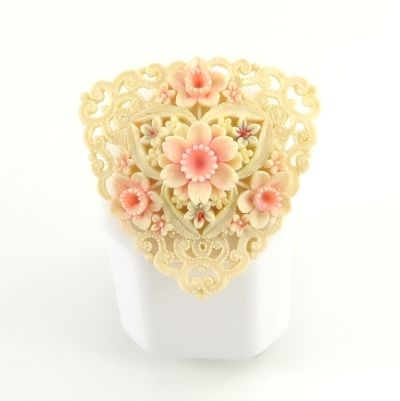 Vintage Celluloid Flower Jewelry from Japan