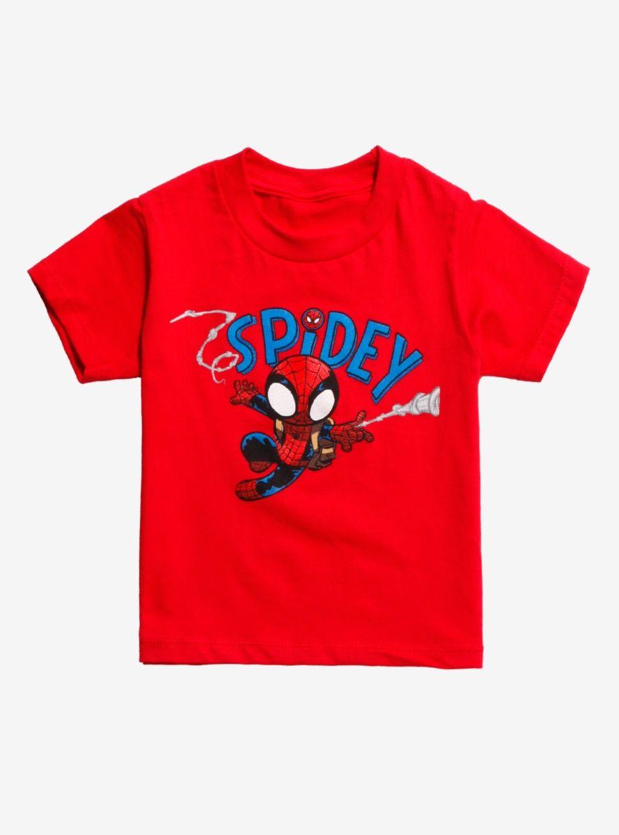 hot sale online e91fe cd5bc Marvel Spider-Man Web Slinger Toddler T-Shirt - BoxLunch Exclusive