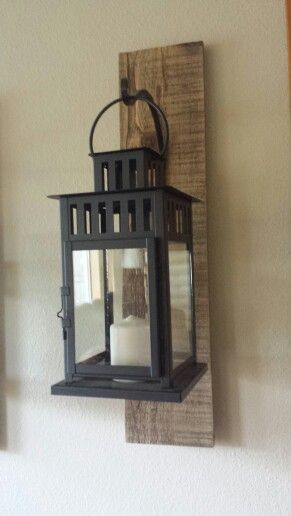 Rustic Candle Holder Can Be Used Inside Or Outside