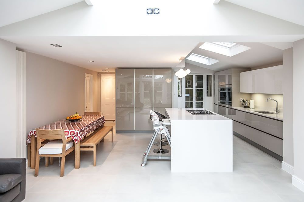 Single Storey Kitchen Extension In Twickenham By Lu0026E (Lofts And Extensions)    Don