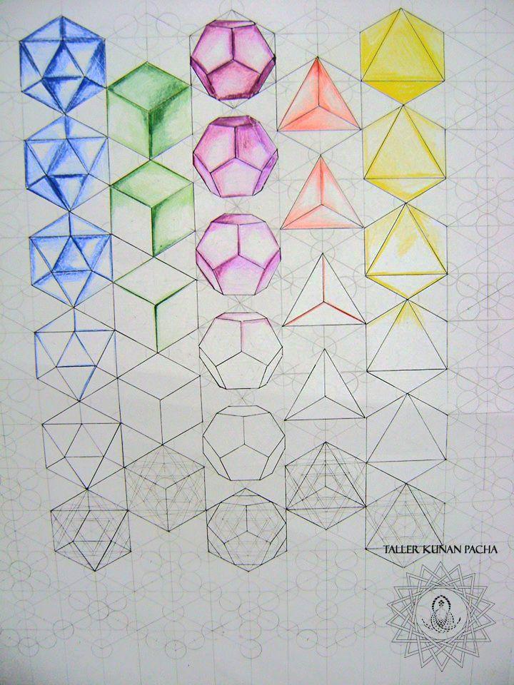 metatrones solidos platonicos | Templates | Pinterest | Geometría ...