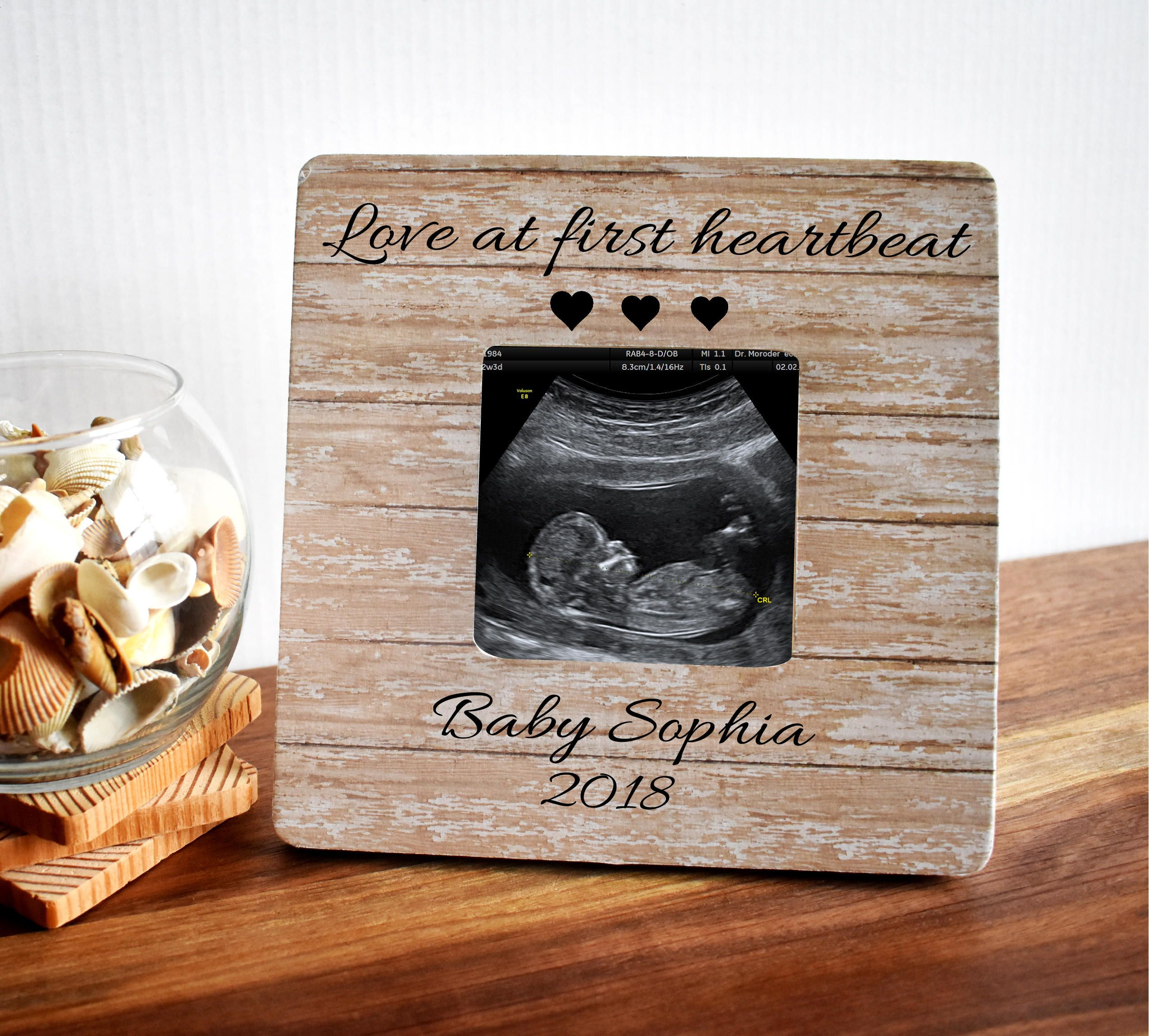 Pregnancy Reveal Baby Announcement Ultrasound Frame Baby Shower