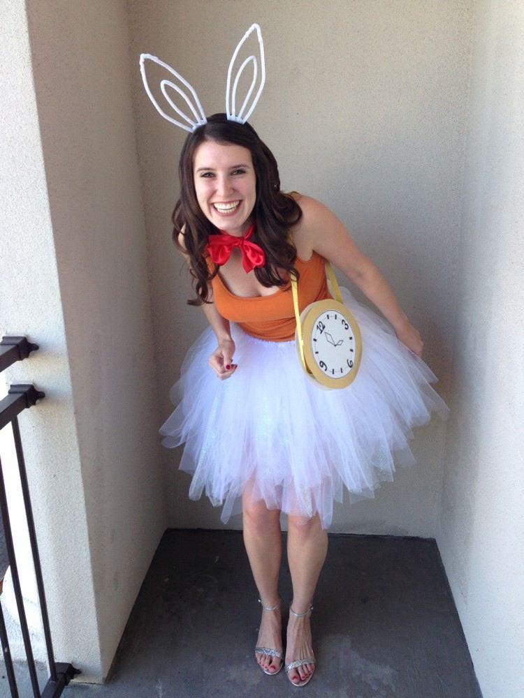 Weißes Kaninchen Kostüm Für Frauen Selber Machen Kostüme