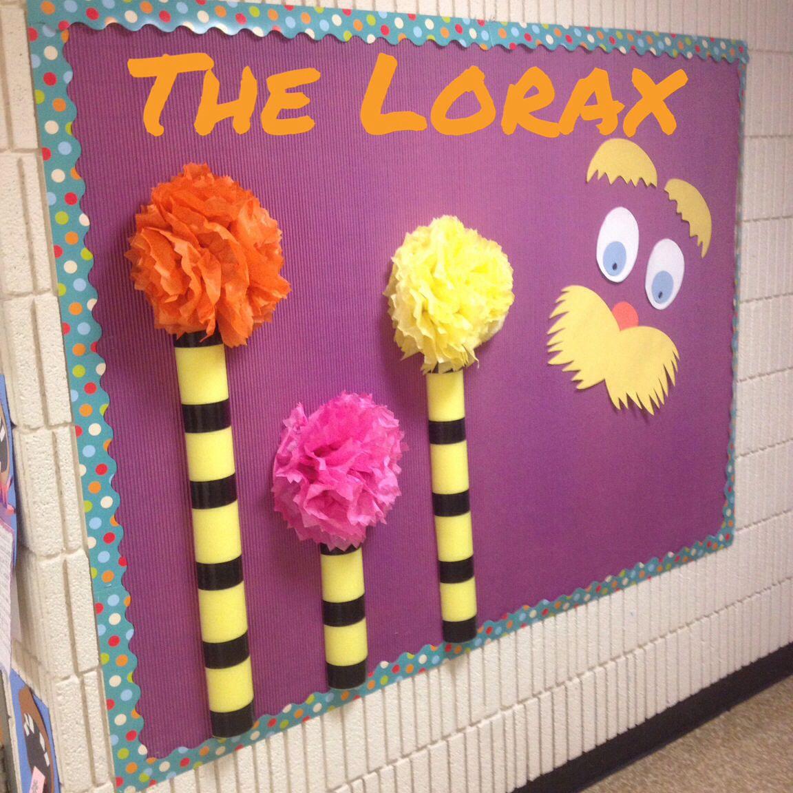 Lorax Classroom Decor : Lorax bulletin board decorations classroom finds