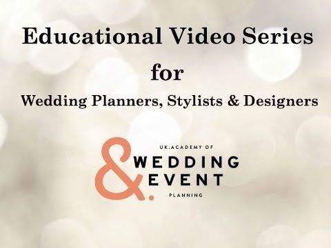 how to become a wedding planner in canada