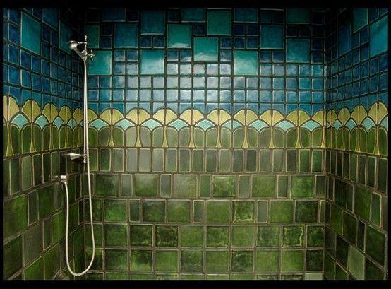 Gorgeous Arts And Crafts Shower Art And Craft Design, Craftsman Tile, Craftsman  Bathroom,
