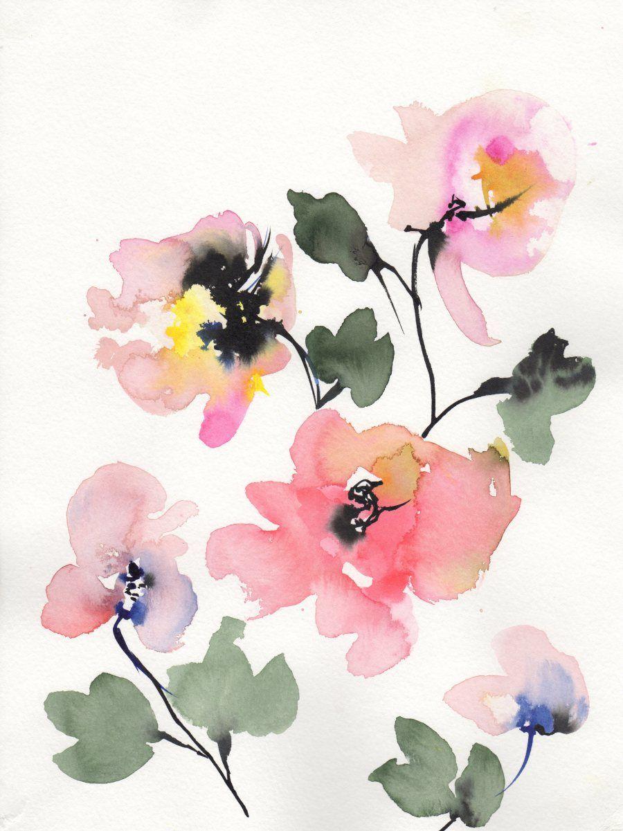 By Signe Kejlbo Watercolour Paper Flowers Stuff To Buy
