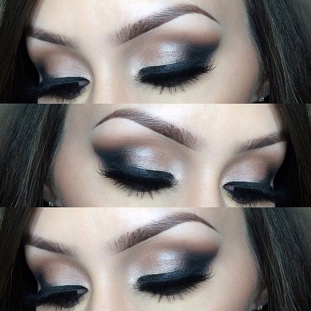 we ❤ this! moncheribridals.com #smokeyeye #weddingmakeup #bridalmakeup