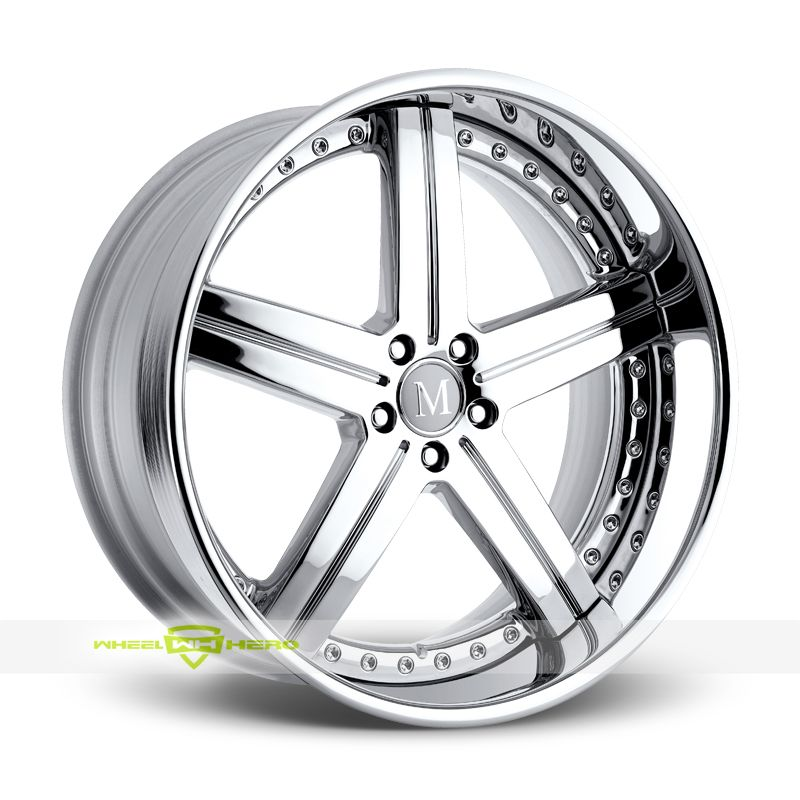 Mandrus mercedes stuttgart chrome wheels for sale for for Mercedes benz rims for sale