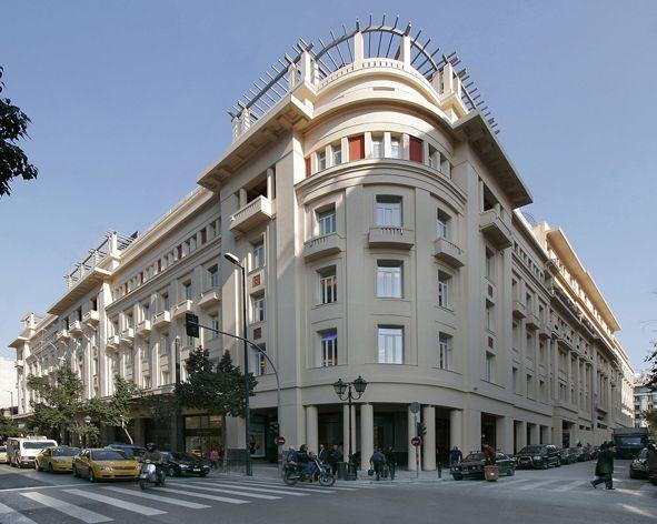 Piraeus Bank Athens Athens Greece Architecture