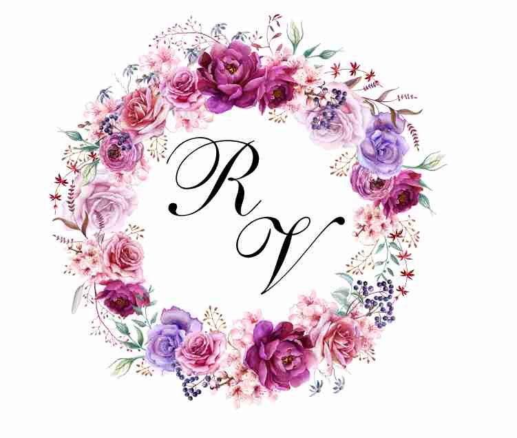 Brasao Monograma Casamento Roxo Digital Com Imagens