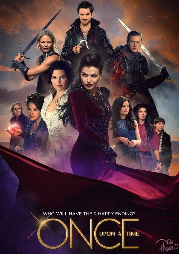 I hope the evil queen finds her happy ending.