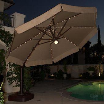 Cantilever Umbrella | 11.5' Milano Offset Umbrella with ...