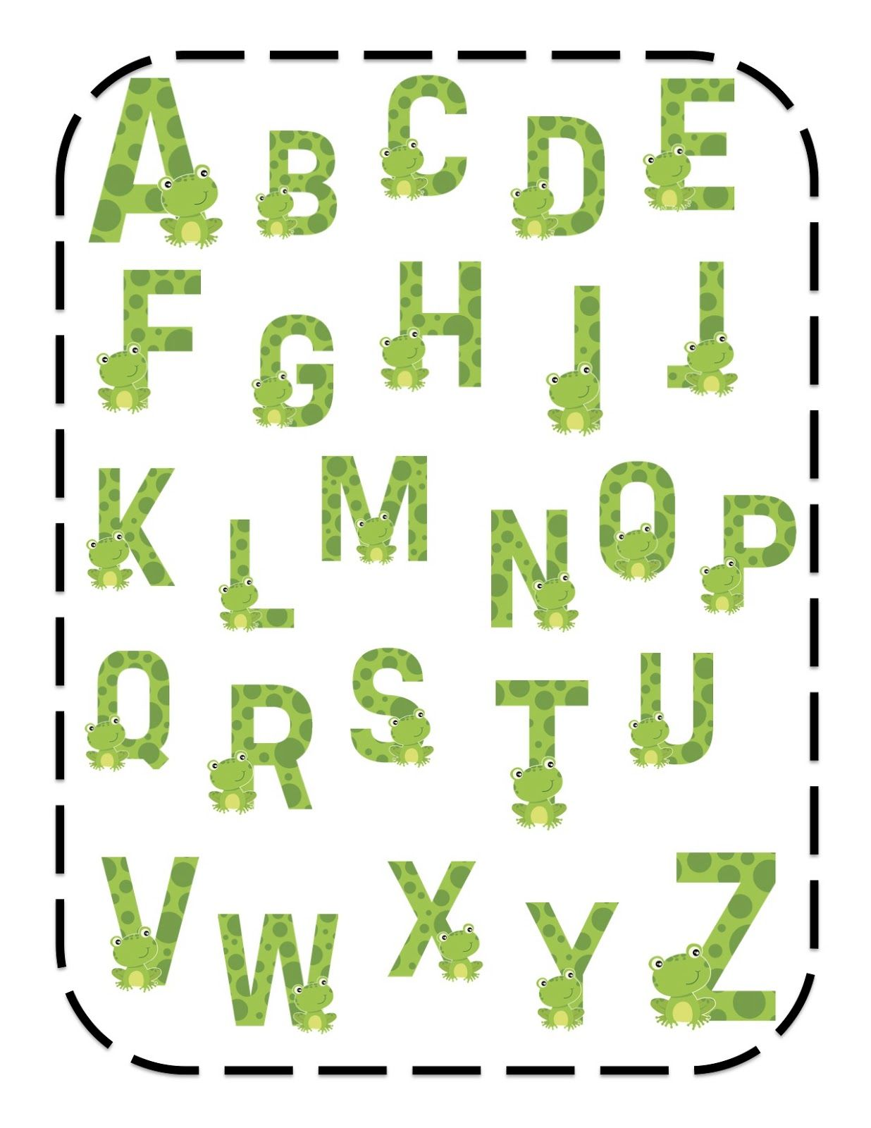 Frog Alphabet | * Frog - Pictures | Pinterest | Frogs and Frog pictures