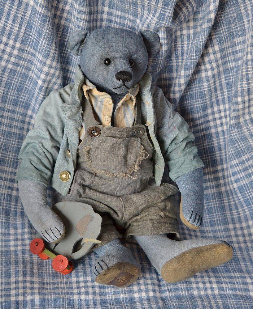 Blue bear 004 | Bears - page 2 | Teddy bear clothes, Bear ...