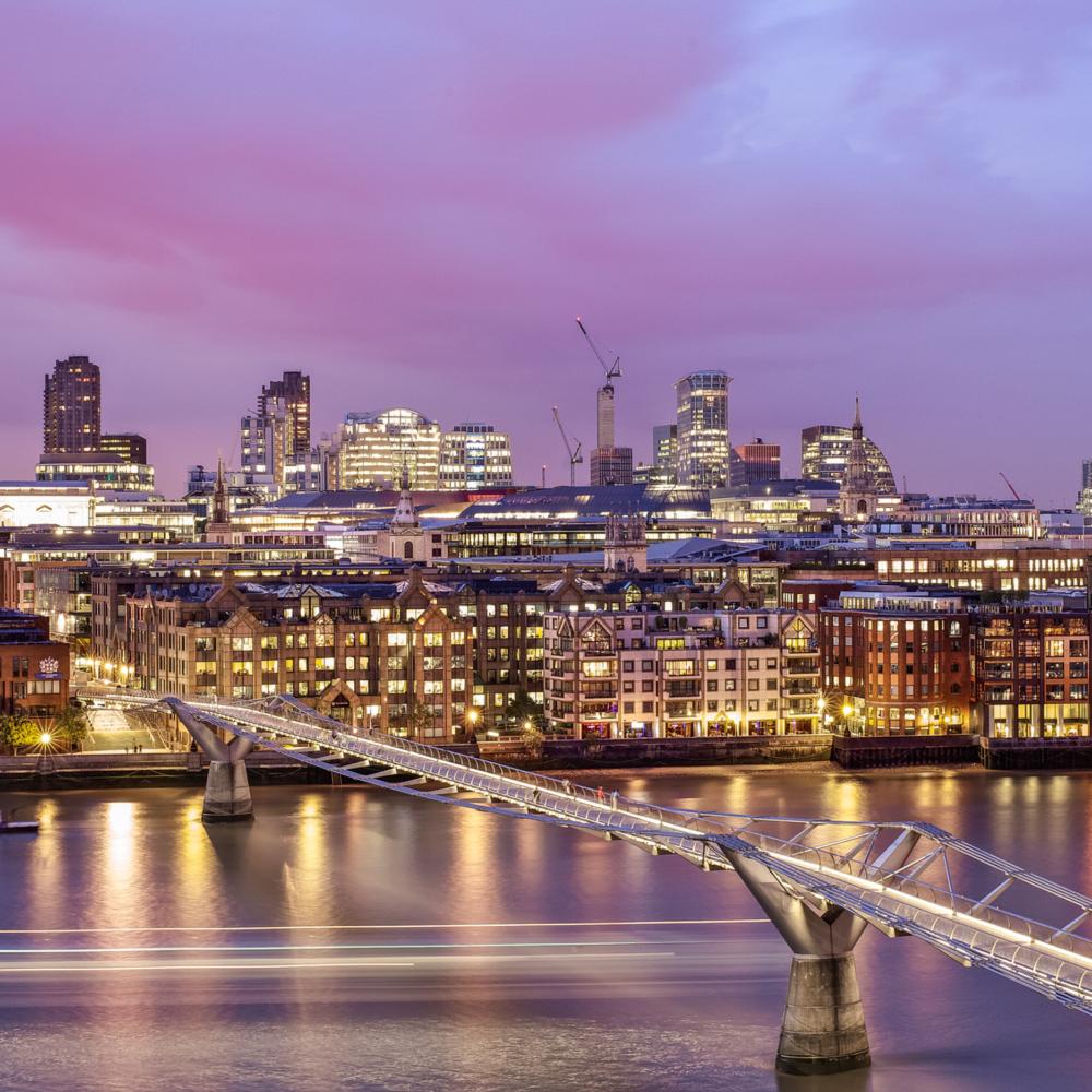 London Skyline From The Tate Modern London Art Photography Store In 2020 London Skyline London City Photography Store