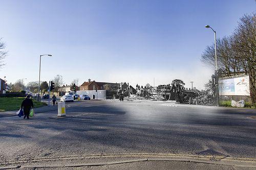 Dereham Road Heigham Road Crossroads 1942 >2011