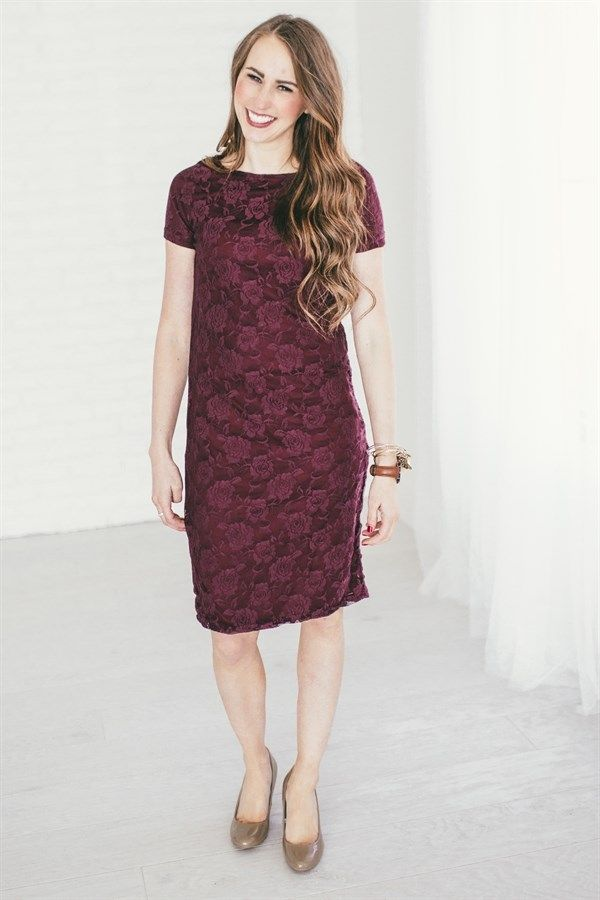 We can't say enough about our new perfect fit lace dresses! These come in 8 gorgeous colors, making them perfect for BRIDESMAIDS! The best part about using these for a wedding is that they are a great style to wear again and again.  Fully lined with a slip thick enough for great coverage, but thin enough to keep cool.