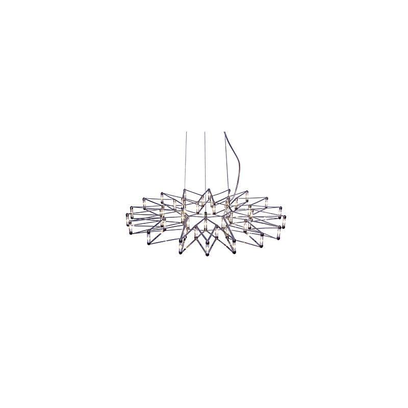 EU Lager)Led Pendelleuchte Sterne Design aus Metall im Wohnzimmer