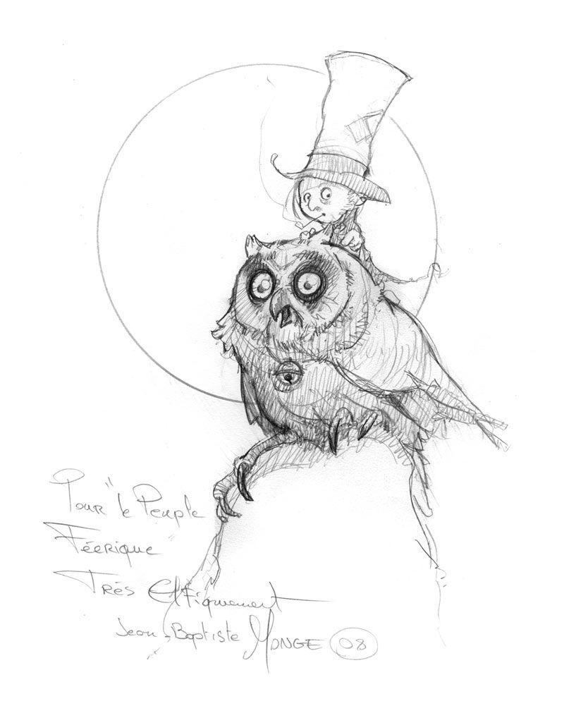 Jean baptiste monge google dessin fantastique - Dessin feerique ...