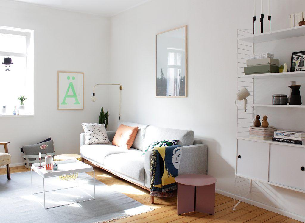 Homestory und Interview mit Swantje aka swantjeundfrieda by Design - deko wohnzimmer regal