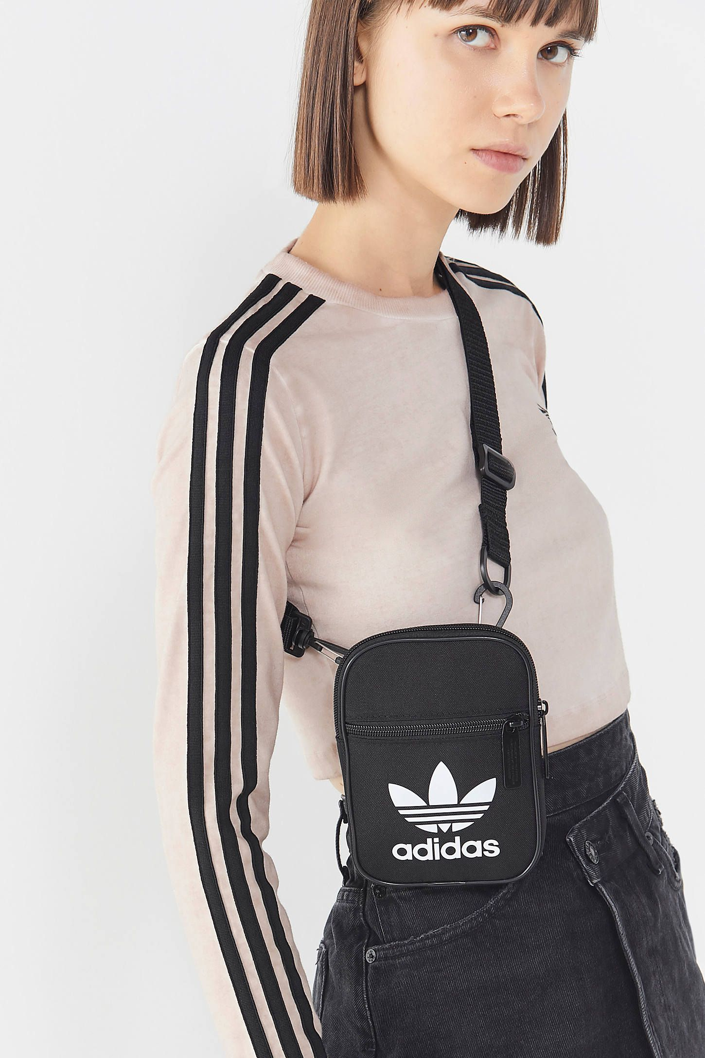 adidas Originals Trefoil Festival Crossbody Bag in 2019  0be4200cac60f
