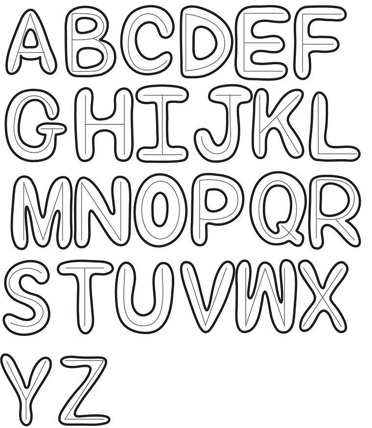 Lettere Dell Alfabeto Disegni Facili Da Disegnare A Mano Libera