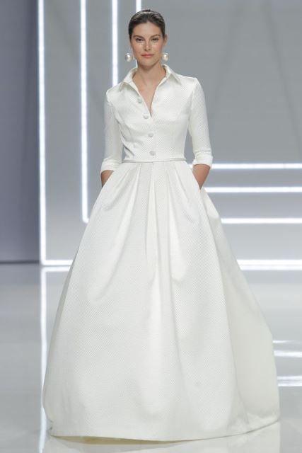 vestido camisero de novia 2 | vestimenta-moda-indumentaria