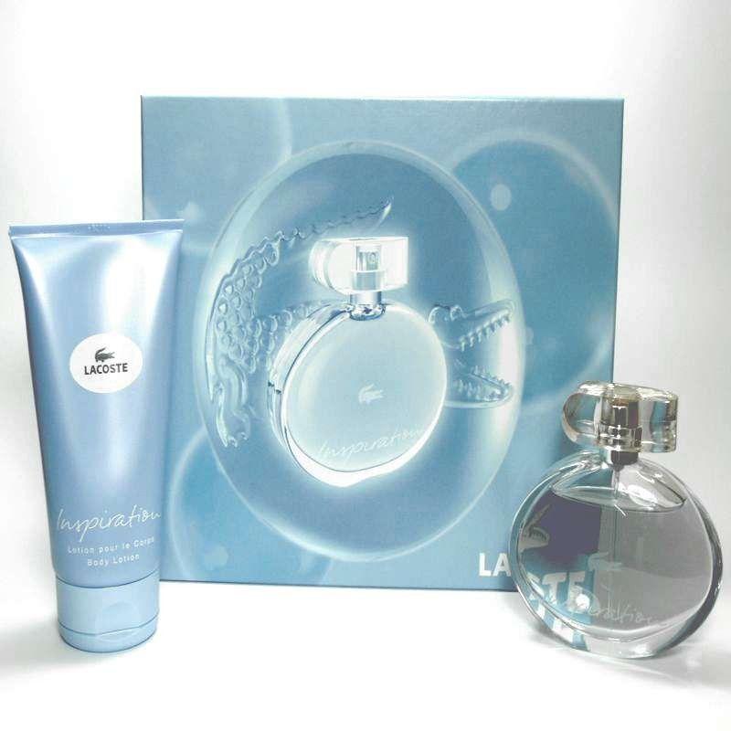 7181ea6cee Estuche promocional del # perfume para mujer Inspiration de # Lacoste