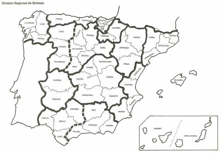 Pin De Leopoldo Guevara En Ciencias Sociales Mapa De España Mapa Fisico De España Día De La Constitución