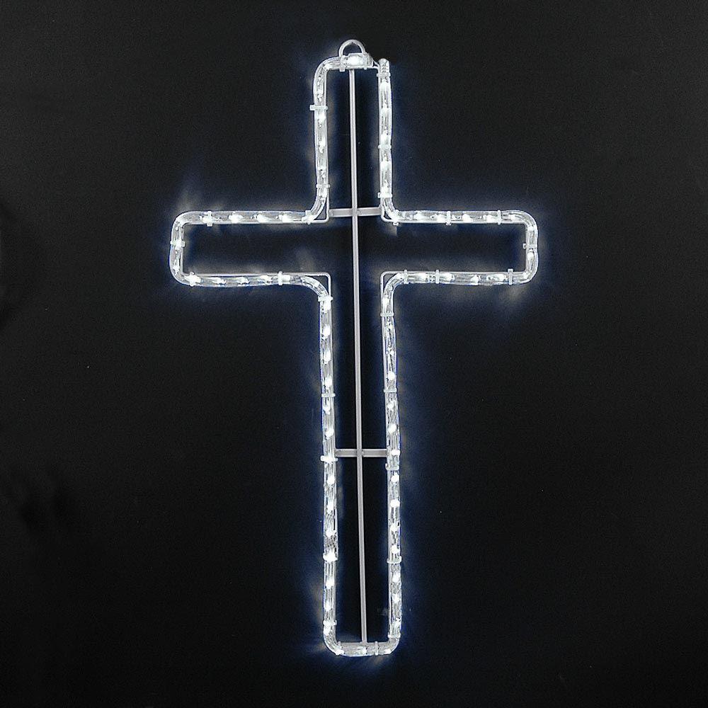 24 Christian Cross Led Rope Light Motif Em 2020 Decoracao Igreja Decoracao Igreja