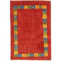 Gabbeh Persisch Teppich 105x154 Orientalischer Teppich