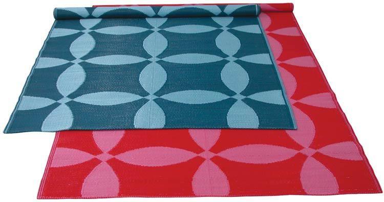 Koko Optics Plastic Floormat 5 X 9 At 2modern Outdoor Rugs