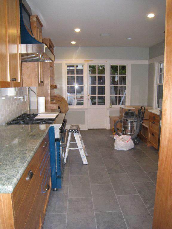 Kitchen Floors Mirage Slate Gray Porcelain Floor Tile