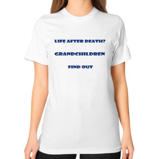 Love grandchildren Unisex T-Shirt (on woman)