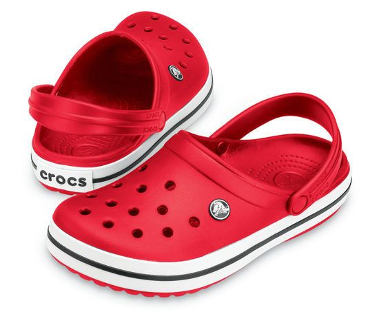 Klapki Crocs Crocband 11016 Red 45 Crocs Red Crocs Crocs Crocband