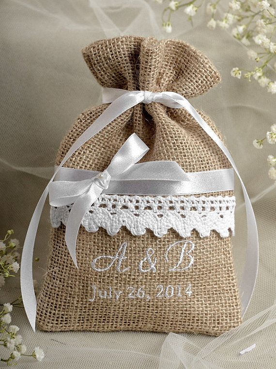 Add your favorite goodies for an instant favor to offer your guests custom listing rustic burlap wedding favor bag lace wedding favor county style gift amazing world of handmade gifts solutioingenieria Image collections